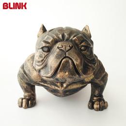 美国恶霸犬模型摆件创意树脂工艺品客厅办公桌装饰品斗牛犬仿真狗