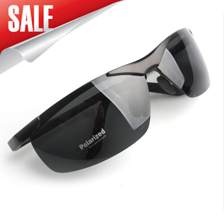Aluminum-magnesium male police Polarized Sunglasses driver driving a motorcycle riding UV anti-glare sunglasses