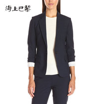 Autumn winter 2016 new small female coat button business suit temperament slim women wear Western-style clothes customized