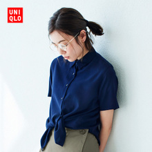 Women Fancy shirt (short sleeve) 404550 Uniqlo UNIQLO