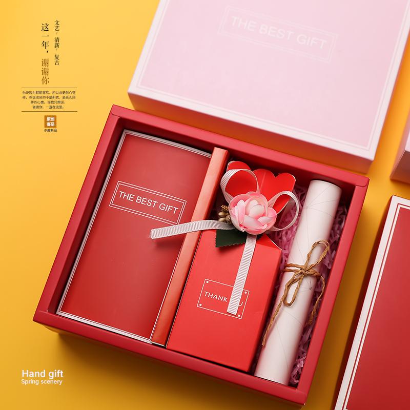 创意结婚伴手礼婚礼伴娘回礼成品喜糖盒包装实用套装婚庆小礼品
