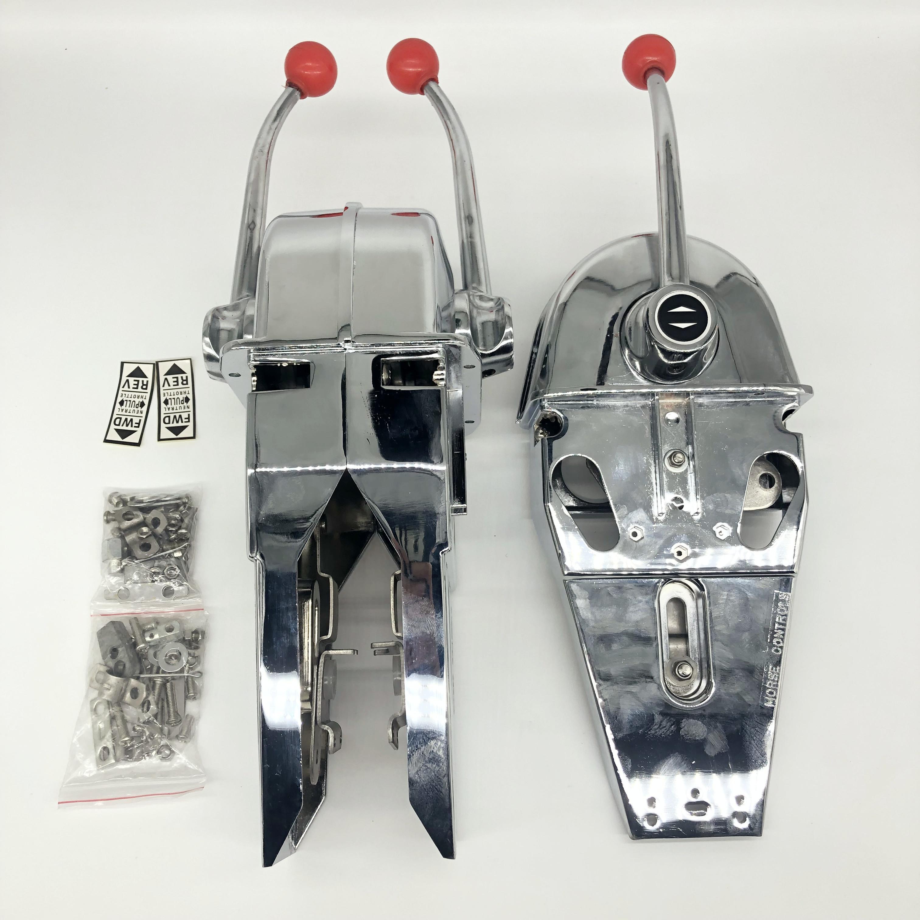船用美式油门头船用舵门档位控制器操纵器美式油门头
