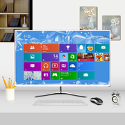 Monitor 32 HD 27 inch ultra-thin 24 Desktop 19 LCD screen game Couting 22 non-second
