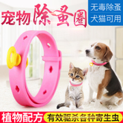 The dog flea ring in vitro anthelmintic activities of pet dog cat collar Teddy neck ring to prevent lice activities