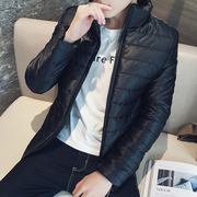 2017 new winter coat men down young and middle-aged cotton old thick cotton jacket short coat on sale