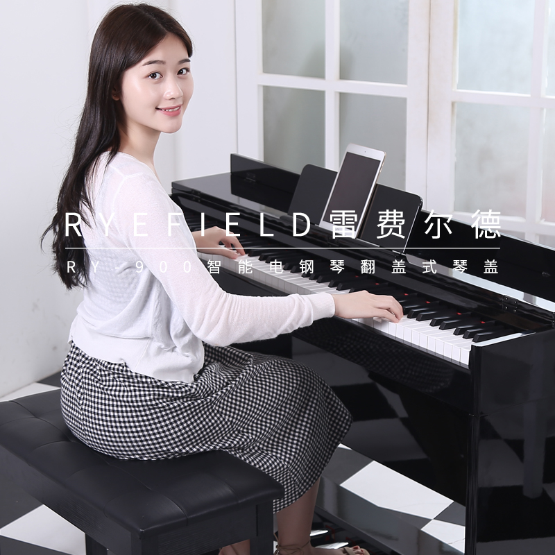 Digital piano, electronic piano, 88 keys, heavy weights, professional adult students, household beginners, vertical electric steel baking paint