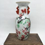 Qianlong year special offer to do the old antique vase with pastel porcelain ornaments antique antique collection
