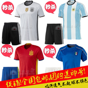 2016 European Cup short sleeve football jerseys, Germany, Italy, Portugal, Argentina, uniforms, uniforms