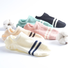 Socks, children socks, shallow socks, Korean lovely boat stockings, female cotton invisible socks, summer thin section, silicone anti-skid cotton socks sets.