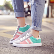 Anta summer of Korean ulzzang color sports shoes casual shoes soled shoes female students tide