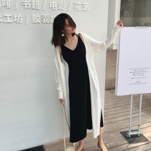 Spring and summer new Korean women in the long section of ice silk sweater outside jacket cardigan sunscreen shirt air conditioning shirt thin