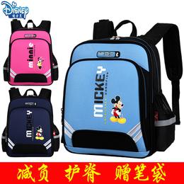 迪士尼背包小学生男女孩子1-3-4-6年级米奇儿童6-12周岁校园书包