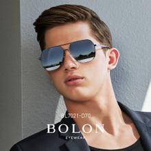 BOLON Tyrannosaurus 2018 New Retro Polarized Mirror Men's Metal Frame Sunglasses Sunglasses Glasses BL7021