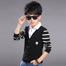 Kids boys spring loaded children children in 2016 new mock neck shirt cotton long sleeve t-shirt at the end of the tide