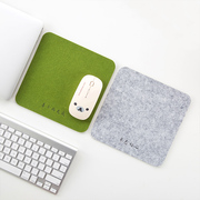 Home home felt mouse pad small office computer desk pad thickening household desk desktop gaming mouse mat