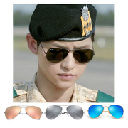 Rayban Ray-Ban sunglasses RB3025 toad SUNGLASSES PINK reflective color film mercury polarized male