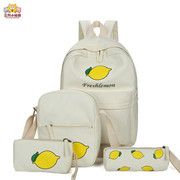 Special offer every day South Korean junior high school students backpack Harajuku small fresh fruit bag rucksack and school