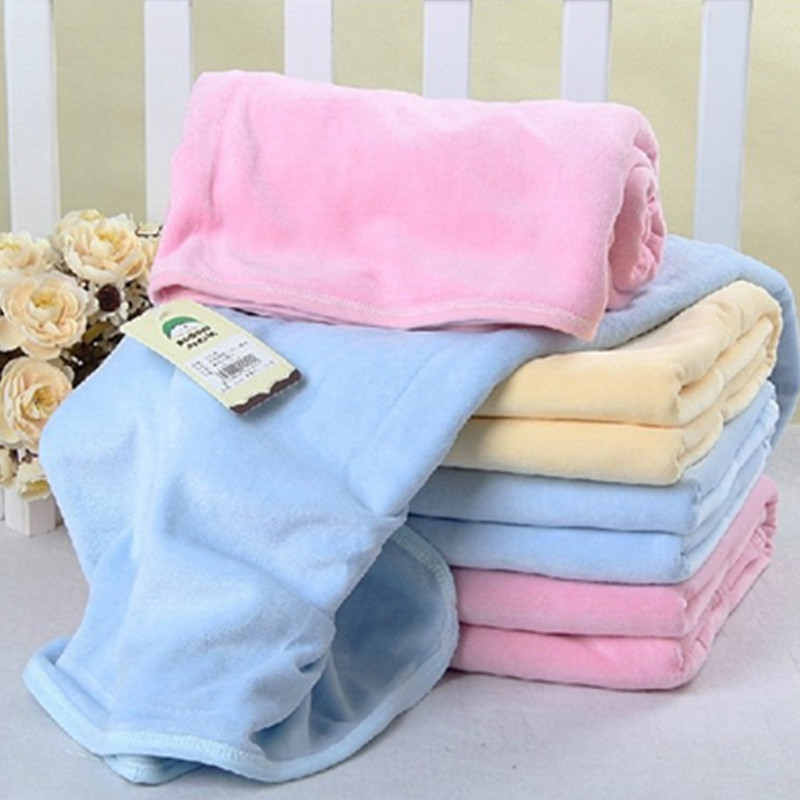 Double deck cotton, super soft, thick velvet baby bath towel, baby blanket, cover blanket, multi towel cover quilt