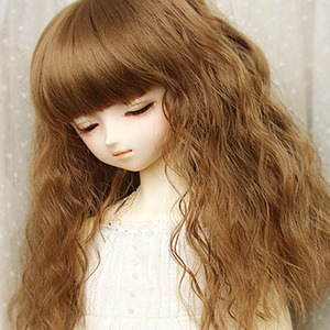 Korean Baby Infant Girls wig wig wig baby photography long wavy hair corn hot