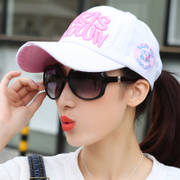 Female students all-match Korean hat wet summer baseball cap leisure leisure Sun Hat Visor Korea peaked cap