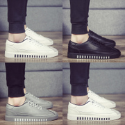 Spring men shoes casual shoes white shoes Korean students personality youth shoes white shoes shoes