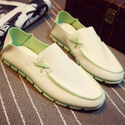 2017 new summer shoes men's casual shoes all-match Doug shoes trend of Korean lazy shoes slippers