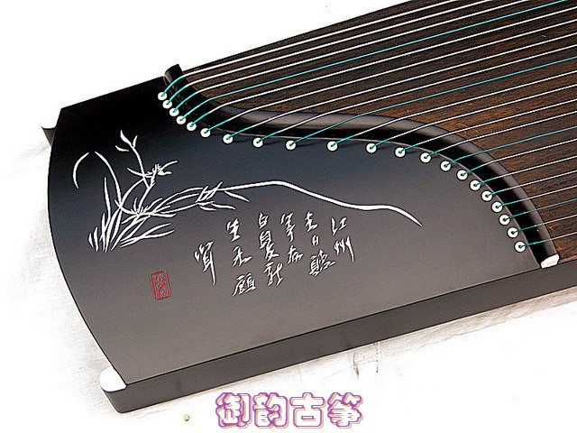 Senior special portable zither instrument special red crown TG small guzheng