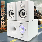 Computer speakers desktop computer sound subwoofer multimedia 2.1 active home audio notebook