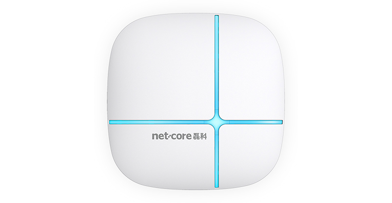 Netcore NAP840+ suction top AP relay routing high power wireless Hotel A.P WiFi covered wall through