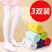 Children dance girl baby socks socks panty white stockings girl long summer leggings and thin tube