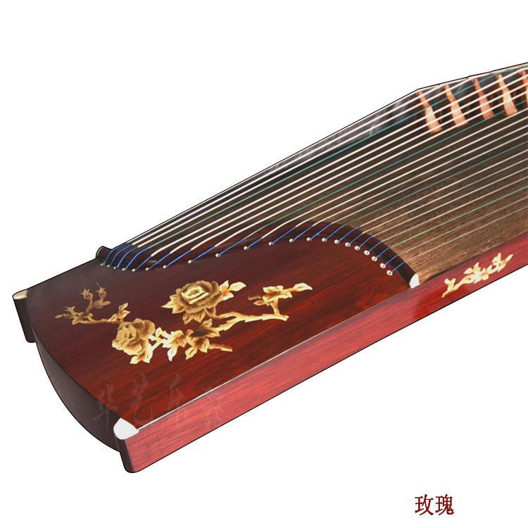 Guzheng beginner package mail annatto white playing professional teaching practice employs instruments lute older adults