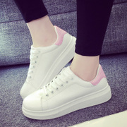 The Korean version of the spring and summer white shoes soled sports shoes casual shoes shoes running shoes breathable shoes students