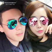 The 2017 New South Korean women sunglasses tide Polarized Sunglasses could face star personality myopia glasses
