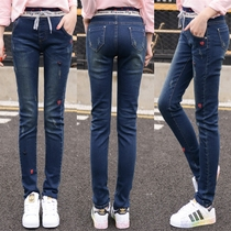 16 winter 14 girls with 18 Junior 12 cashmere high school girls aged 17 and 15 new thickened 13 pants women