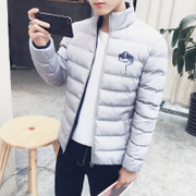 2016 new men's men's coats in winter coat boys short jacket winter youth sub male Mianfu