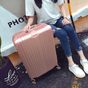 Suitcase, universal wheel, 24 inch girl student suitcase, 26 inch cipher box, Korean version, 20 inch leather case, pull case, male