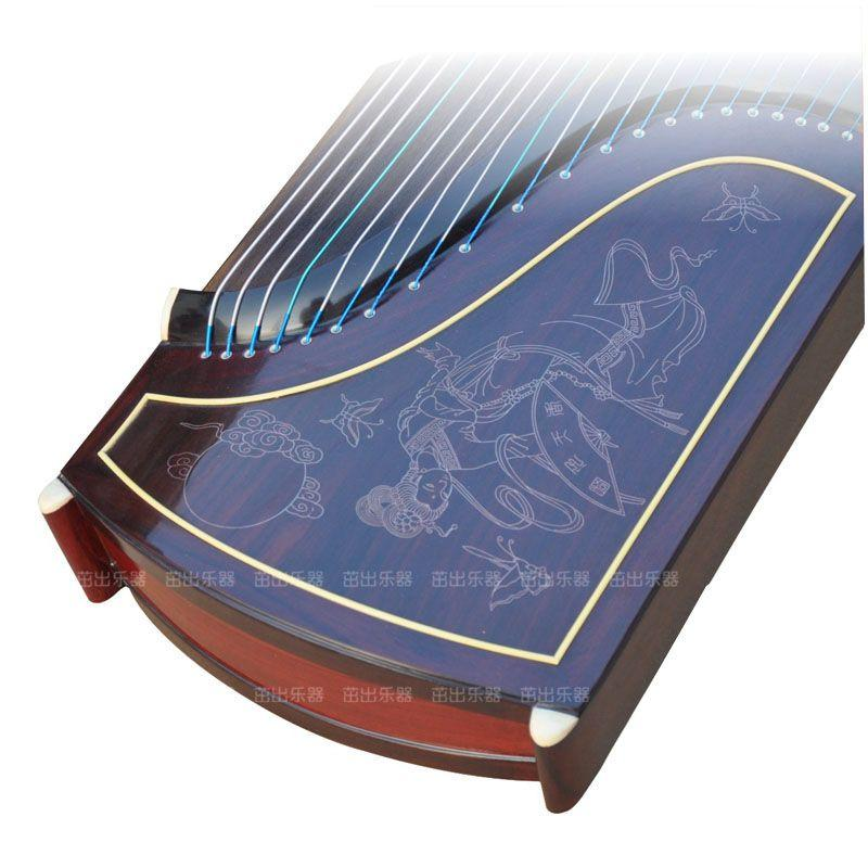 The sr guzheng 698 j broadleaf rosewood Play the piano Shanghai national Musical Instruments factory