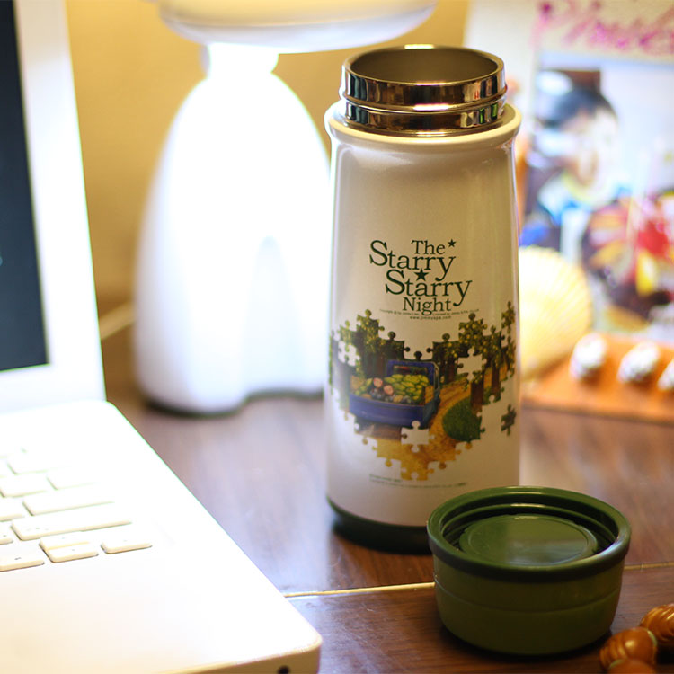 Specials email Jimmy starry stainless steel vacuum flask super nice literary daughters Tong Shui Cup