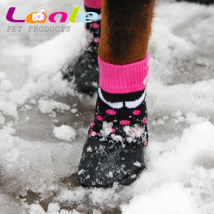 Lanle authentic spot for the big dog to create indoor and outdoor common pet waterproof socks WPS05
