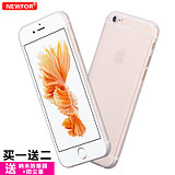 Newfor iphone6 ​​mobile phone shell 6s Apple 6plus protective sleeve 4.7 frosted drop thin transparent soft shell