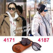 Ray-Ban RB4171 Sunglasses Velvet Matte plate female Sunglasses ultra light glasses rayban4187 genuine polarized