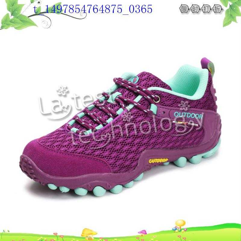 The formal leisure mountaineering shoes breathable outdoor shoes slip waterproof hiking shoes female ultra light off-road shoes sports shoes
