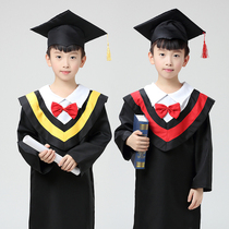 Dr kindergarten graduation dress clothes gown graduation pictures students of Bachelor of childrens clothing clothes dance costumes