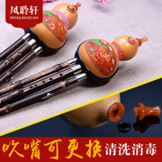 Master Feng Xuan Yunnan Zizhu / instrument Hulusi C B students adult children learning professional shipping