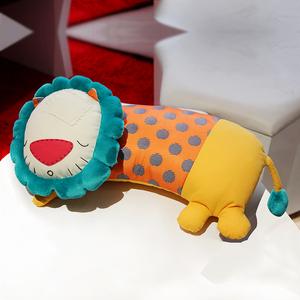 布艺娃娃diy手工制作材料包 布偶左手右手台湾原创玩偶狮子抱枕