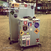 25 rimowa luggage stickers affixed to the waterproof box personality suitcase stickers skateboard wall refrigerator