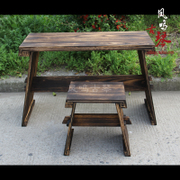 The old piano teacher Zhuodeng Tung Guqin museum dedicated real factory direct double bolt Guqin gift table