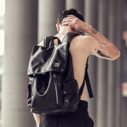 HERDER/ Hedenger backpack Backpack New Trend of men's casual fashion bag computer bag Han Students