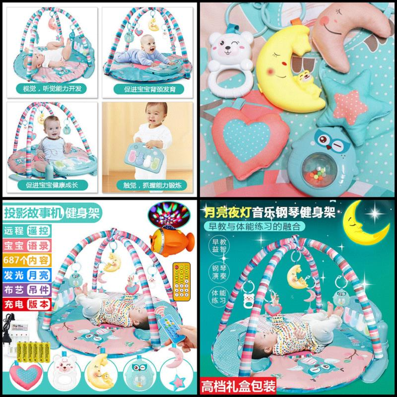 Neonatal toys, 0-3 months baby gift sets, gifts, full moon gifts, male and female baby creative package