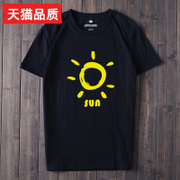 2017 new summer men's short sleeved T-shirt Teenage Boys Shirt Mens clothes half sleeve solid tide